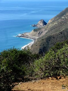 Pt. Mugu from the Ray Miller Trail in La Jolla Canyon, just north of Malibu on PCH1 by Karen Abel