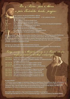 Program   Castellum Cassovia