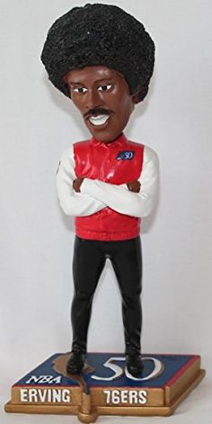 fa7bc2b0ca7 Julius Erving Philadelphia 76ers NBA 50 Greatest Commemorative Bobble Head    Check this awesome product by