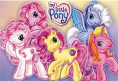 My Little Pony (original obviously) - this is generation 3 and certainly not the original, but it was for most children born in the 90's and saw it around 2003-2007/8