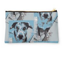 Catahoula Leopard Dog Studio Pouch