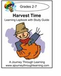 September $5 Featured Lapbook! Harvest Time Lapbook with Study Guide. #lapbooks #homeschooling