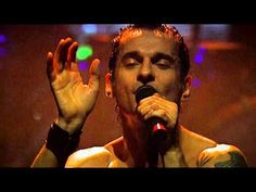 "Very sexy Dave Gahan singing ""Personal Jesus"" Depeche Mode Torino 18-2-14 (HD) - YouTube"