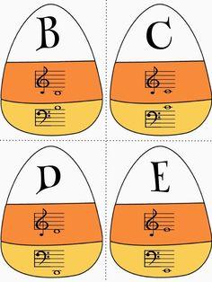 Music a la Abbott - Amy Abbott - Kodály Inspired Blog and Teachers Music Education Resource: Halloween!!!