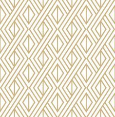 Freshen your interior space with this metallic gold and white Diamond Geometric peel and stick wallpaper from NextWall. The geometric maze design will bring a clean, chic look to your next decor project. Printed on smooth vinyl, our peel and stick de Gold Removable Wallpaper, Temporary Wallpaper, Metallic Wallpaper, Wallpaper Decor, Geometric Wallpaper, Self Adhesive Wallpaper, Wallpaper Roll, Peel And Stick Wallpaper, Botanical Wallpaper