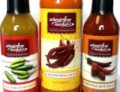 Grain free, wheat belly approved sauces, mixes, etc
