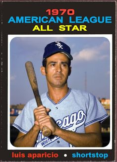 1971 Topps Luis Aparicio All-Star, Chicago White Sox, Baseball Cards That Never Were