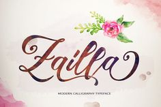 Zailla Script (25% OFF) by Dirtyline Studio on @creativemarket