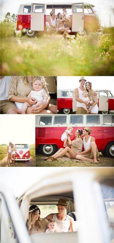 family shoot, VW bug styled shoot, family portraits, edmonton-family-photography