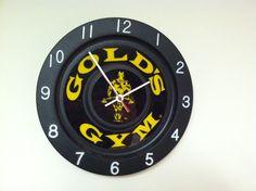 Gold's Gym Time! Gold's Gym, Best Gym, Gym Time, Clock, Watch, Clocks