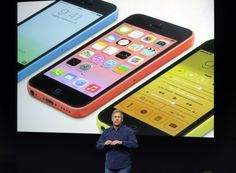 Apple has launched two new iPhones - the 5C in a range of colours and a new flagship 5S, boasting a futuristic fingerprint scanner