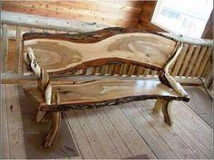 Ho to Make Rustic Wood Furniture