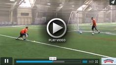 Goalkeeper - Shuffle Quick Turn Drill - Vern Gingerich - Univ. of Notre Dame [VIDEO] - Coach Vern Gingerich explains and Goalkeepers demonstrate this Shuffle Quick Turn Drill