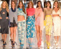 Diva de atitude: As principais tendências da moda primavera verão 2...