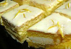 Citromos mignon ahogy Timcsó készíti Hungarian Recipes, Apple Cake, Macaron, Sweet And Salty, Mini Cupcakes, Sweet Tooth, Cheesecake, Food And Drink, Sweets