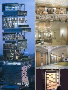 World's most expensive house - Mumbai - 1 billion dollar