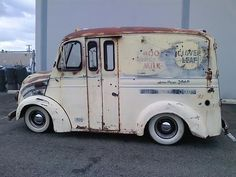1951 Divco Milk Truck. If you are bored by traditional vans, this would be your choice. Dollar 11500, -. 1951 divco milk truck rat rod - THE H. A. M. B. zum Original