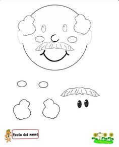 Yh Grandparents Day Crafts, Japanese Language, Coloring Sheets, Preschool Activities, Special Day, Iphone Wallpaper, Crafts For Kids, Classroom, Cartoon
