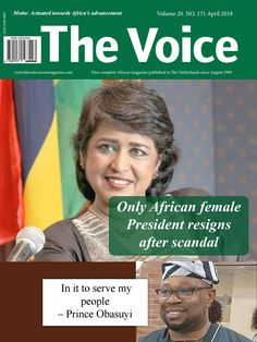 The Voice magazine April 2018 edition