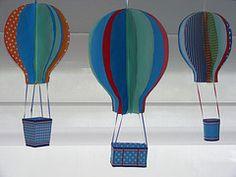 globos aerostaticos para la mesa - Buscar con Google