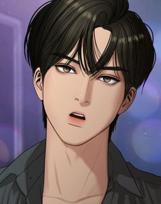 Suho, The Secret, Webtoon Comics, Handsome Anime Guys, Sad Anime, Anime Art, Manga Anime, Cha Eun Woo, Cute Faces