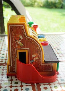 Fisher Price cash register - 80s Toys! My mom thinks this helped me with my cash register skills today!!