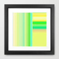 Re-Created  Parquet 5 Framed Art Print by Robert S. Lee - $35.00