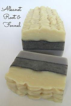 Alkanet Root Fennel Soap