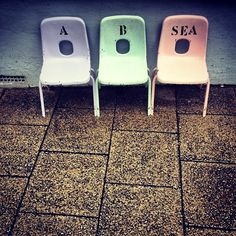 A, B, SEA - Whitstable, Kent
