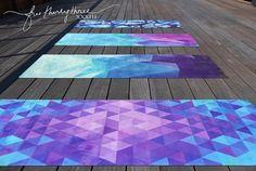 BEST Yoga Mats!!  Beautiful Eco Functional yoga mats to inspire your yoga!!  Love!