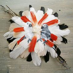 Feather Paintings by Jamie Homeister