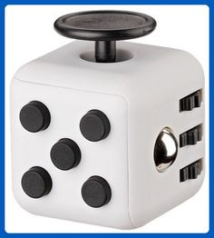 Tech Motion Fidget Cube Relieves Stress And Anxiety for Children and Adults Anxiety Attention (Gray) - Fidget spinner (*Amazon Partner-Link)