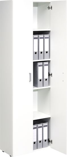 CS Schmal Trio Storage Cabinet 13 ( without doors) Office Storage, Locker Storage, Staircase Storage, Small Places, Filing Cabinet, Doors, Furniture, Home Decor, Stairway Storage