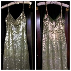 Flapper Dress. 1920s Assuit Egyptian Revival by 21stCenturyVamp