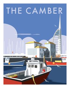 THE CAMBER, Portsmouth, Hampshire, GB
