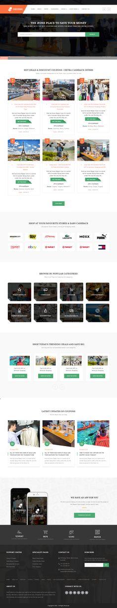 Geodeo - Coupons & Deals WordPress Theme