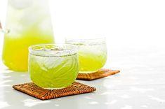 Une version exotique et à Index Glycémique bas du traditionnel thé glacé !