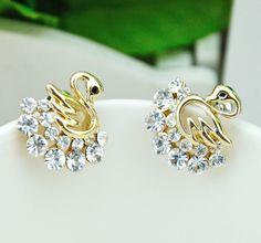 cute diamond earrings