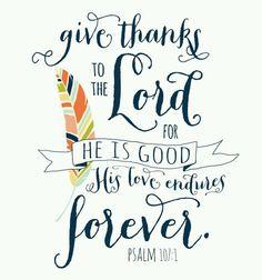 Psalm 107:1