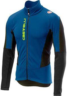 Zimco Pro Vélo Veste De Cyclisme Viz Veste Hiver Soft Shell Wind Jersey Blue