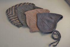 Knitt a pilothat for the baby - Oppskrift på hjelmlue til de små, så og si uten montering!