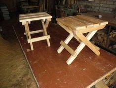 Как сделать складной стул своими руками. Чертеж