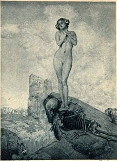 Image result for river god drowns the maiden in painting