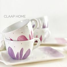 Ceramic Cups, Home Staging, Tea Pots, How Are You Feeling, Pottery, Ceramics, Sculpture, Make It Yourself, Tableware
