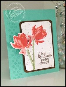 Lotus Blossom - FREE with $50 order at www.SimplySimpleStamping.com