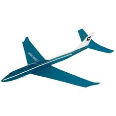Passenger Plane (Blue),Toys,Paper Craft,blue,vehicle,paper airplane,glider