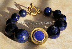 "Lapis ""Stone of Royalty"" Bracelet 