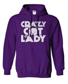 I Love Crazy Cat Lady T shirts