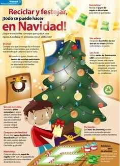 Reciclar y festejar en Navidad