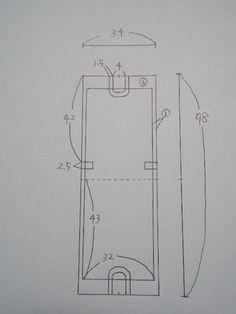 ピカ☆ピカ:体操着袋 基本形 作り方その1